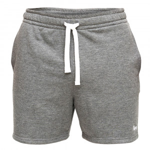 Slippsy tmavě šedé pánské teplákové kraťasy Dark Gray Shorts Boy