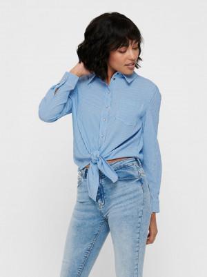 Only pruhovaná modrá košile Lecey