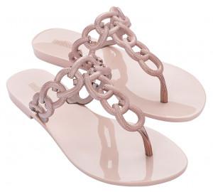 Melissa růžové žabky Success Pink/Metalic -