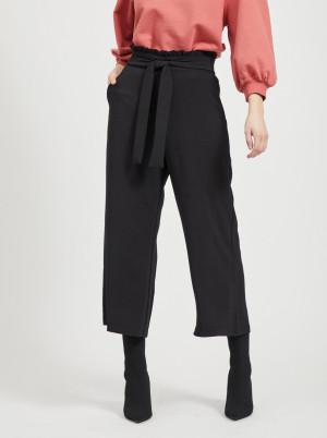 Vila černé culottes kalhoty