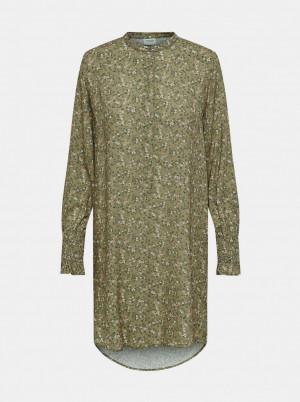 Jacqueline de Yong khaki dámská košile Peak