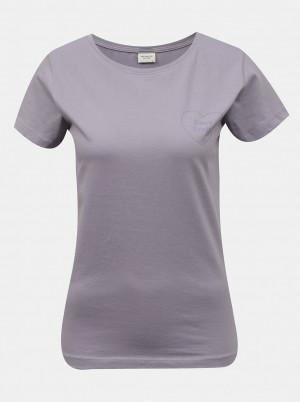 Jacqueline de Yong fialové dámské tričko Chicago