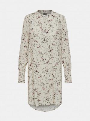 Jacqueline de Yong krémová košile Peak