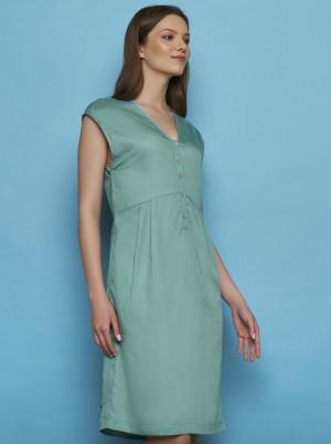 Tranquillo zelené šaty Otilie