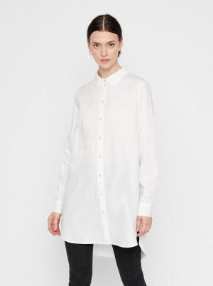 Pieces bílá dámská košile Noma