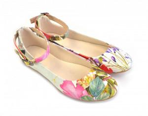 Goby barevné baleríny Flower Field -