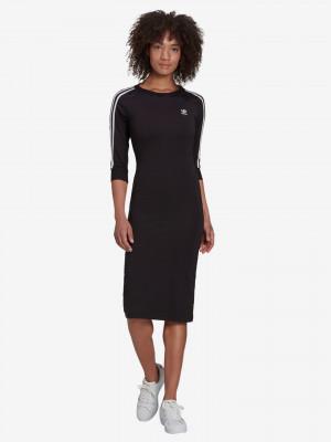 3-Stripes Šaty adidas Originals Černá