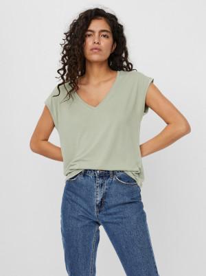 Vero Moda zelené tričko Filli