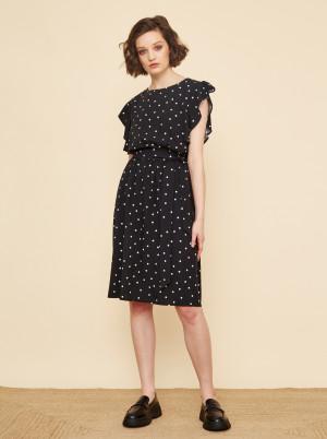 ZOOT černé puntíkované šaty Debora