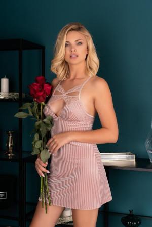 Elegantní košilka Thorjako - LivCo Corsetti S/M Růžová