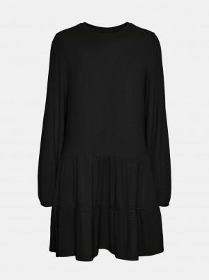 Vero Moda černé volné šaty