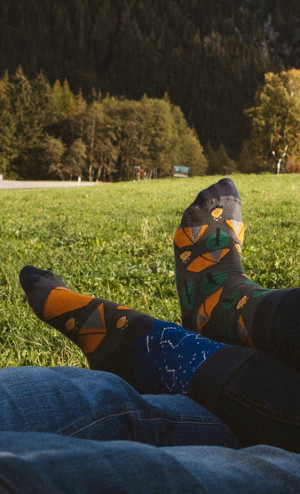 Ponožky Spox Sox - Stan vícebarevný 40-43