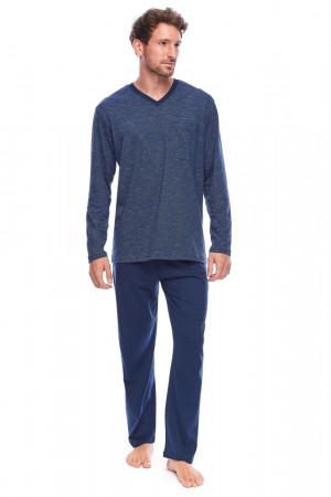 Pánské pyžamo Sam tmavě modré modrá