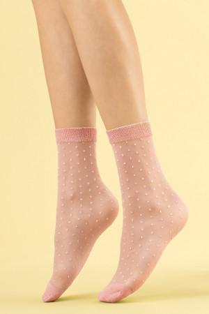 Dámské ponožky Fiore Secco 20 den poudre uni