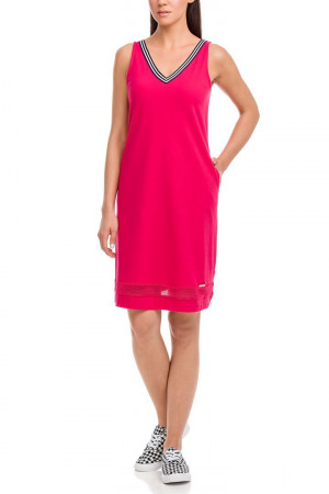 Dámské plážové šaty - 12545 - Vamp růžová