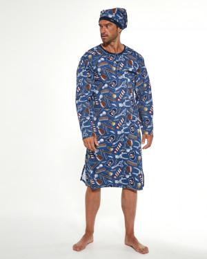 Pánská noční košile DR 110 Podzim 2021 BIG džíny 4XL