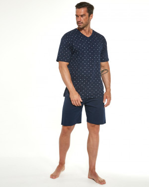 Pánské pyžamo KR 472/188 MARTIN 2 námořnická modrá
