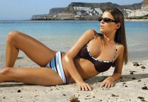 Ewlon Vanessa Soft (3) + Brazilky Dámské plavky 36 hnědá