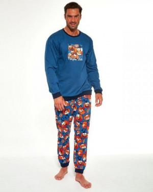 Cornette 456/174 Pumpkin Pánské pyžamo S jeans