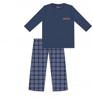 Pánské pyžamo DR 124/179 MOUNTAIN námořnická modrá