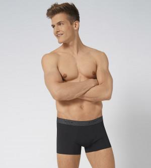 Pánské boxerky  men Body Adapt Hipster - Sloggi černá (0004) 000L