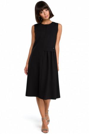 Dámské šaty B080 - BEwear Černá