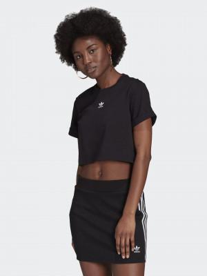 Tee Crop top adidas Originals Černá