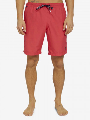 Plavky Tom Tailor Červená