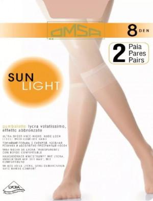 Podkolenky Sun Light 8DEN CAMOSCIO Univerzální