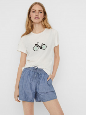 Vero Moda bílé tričko Donna