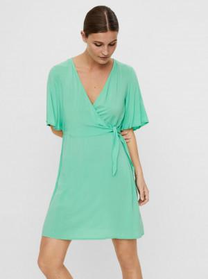Vero Moda zelené šaty Ibina