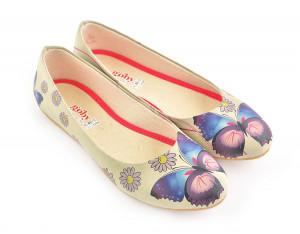 Goby baleríny Daisy and Butterfly -