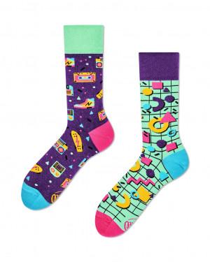 Many Mornings barevné ponožky Back to the 90's - 35-38
