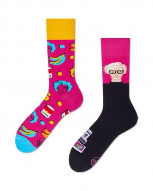 Many Mornings barevné ponožek Pop Art - 35-38