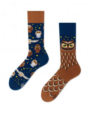 Many Mornings barevné ponožky Owly Moly - 35-38