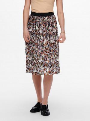 Jacqueline de Yong barevná plisovaná sukně Boa