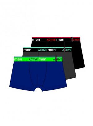 Pánské boxerky Redo 1BE-686 M-3XL Černá