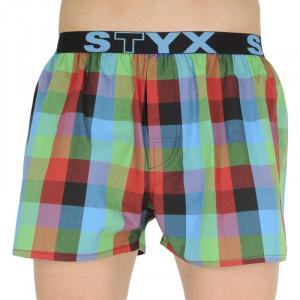 Pánské trenky Styx sportovní guma vícebarevné (B836)