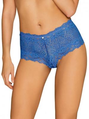 Okouzlující kalhotky Bluellia shorties - Obsessive modrý S /