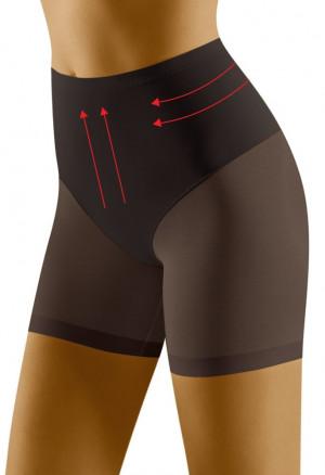 Stahovací boxerkové kalhotky Relaxa černé černá