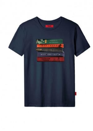 Pánské tričko John Frank JFTCOOL46 L Černá