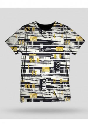 Pánské tričko John Frank JFTD35 L Šedá