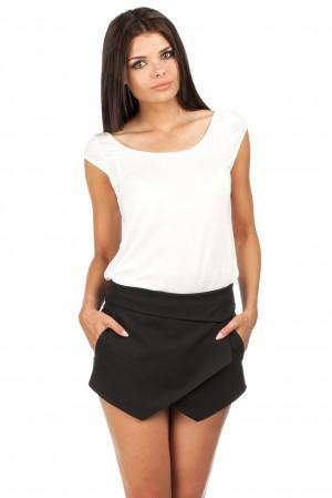 Dámská kalhotová sukně M091 - Moe Černá S-36