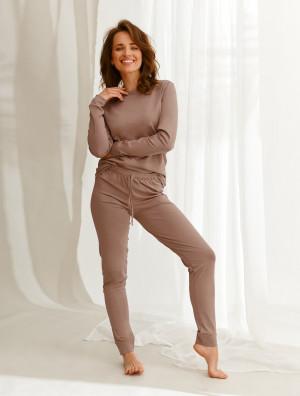 Dámské pyžamo Taro Maya 2553 Homewear dl/r S-XL Z'22 Mocca