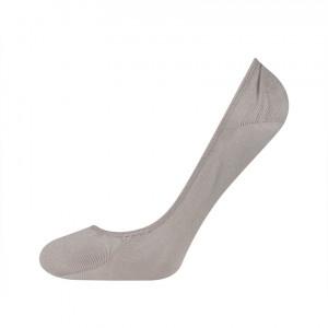 Ponožky SOXO se silikonem do balerín - šedé Šedá 35-40