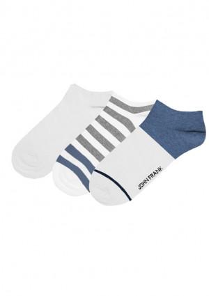 Pánské ponožky John Frank JF3SS20S13, 3 pack UNI Dle obrázku