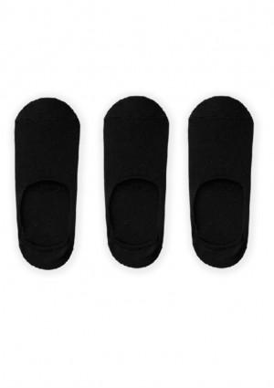 Pánské ponožky John Frank JF3NS01 - 3PACK UNI Černá