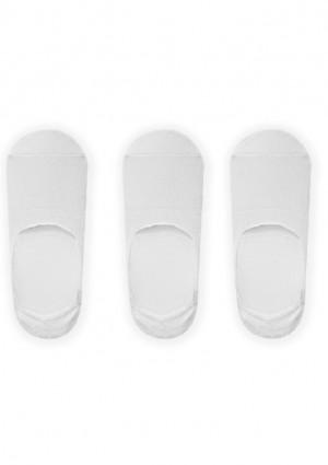 Dámské ponožky John Frank WJF3NS19-01 3 pack UNI Bílá