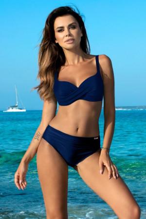 Dámské dvoudílné plavky Esther-EG - Gabbiano tmavě modrá 42F/XL