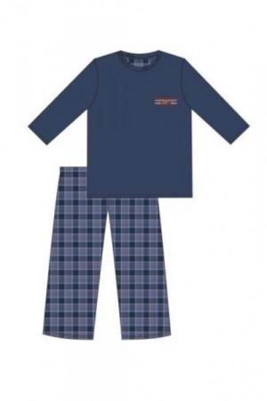 Cornette 124/179 Mountain Pánské pyžamoo S tmavě modrá